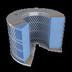 Donaldson airfilter cutaway
